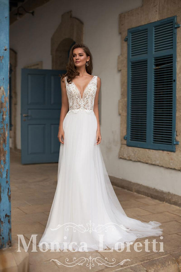 Brautkleid Monica Loretti Kollektion 2021