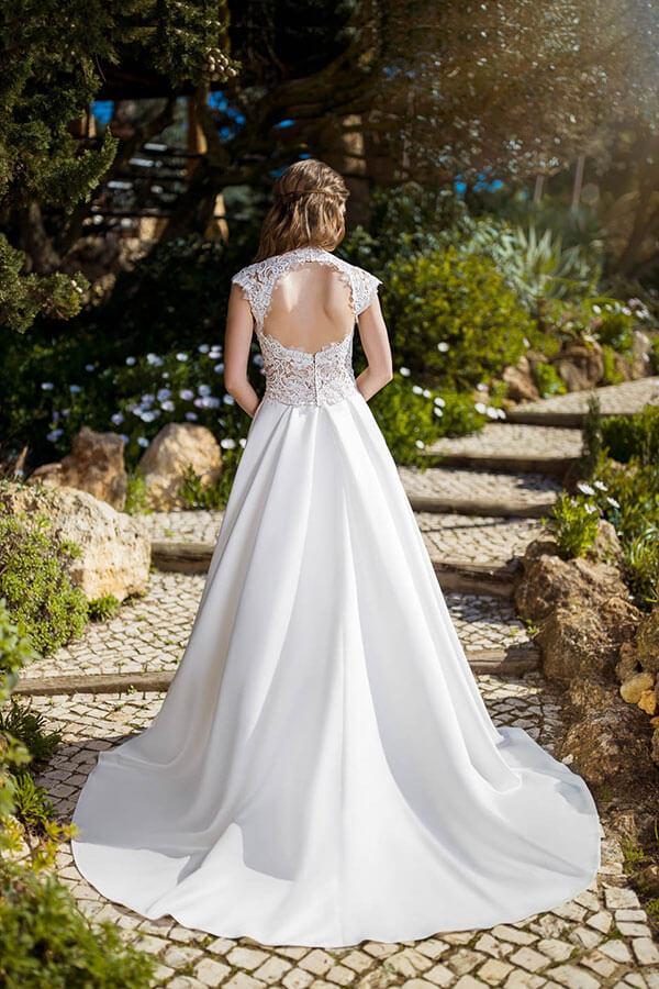 2 Teiler Brautkleid