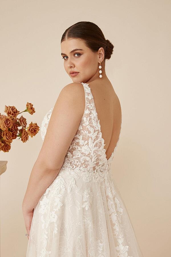 Justin Alexander Hochzeitskleid Catalina 2022