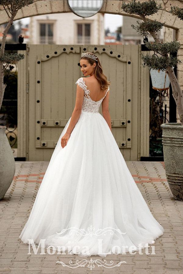 Monica Loretti Prinzessin Hochzeitskleid 2022