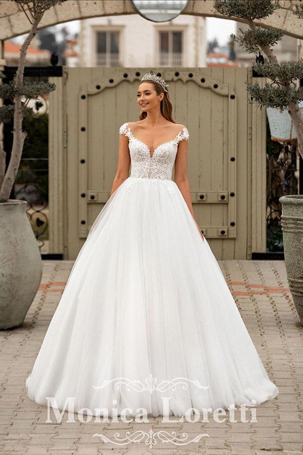 Monica Loretti Hochzeitskleid Prinzessin 2022